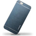 Metal iPhone 6 Case w Matt Plastic Round Multi-Color Available