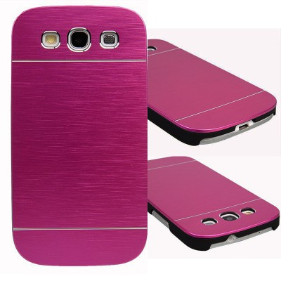 Aluminum Metal Case for Samsung Galaxy S3 S III i9300 - purple