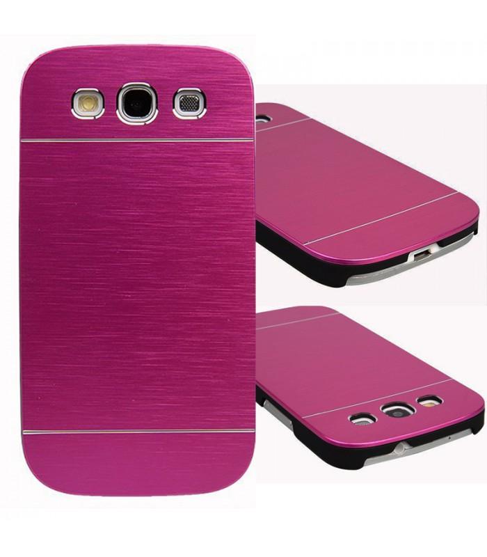 Aluminum Metal Case for Samsung Galaxy S3 S III i9300 - purple