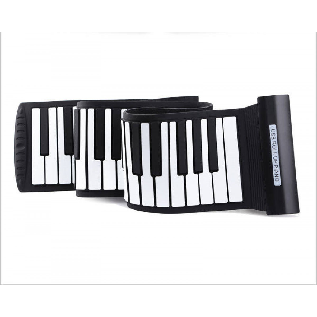 af0cfaa5951 88 Thickened Keys Electronic Roll Up Piano