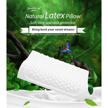 Thailand Natural Latex Pillows Relieve stress and Massage