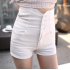 2018 summer hot bandage slim short jeans
