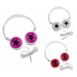 #Clearance# Star Wired Stereo Headphone WX838 - Multi-Color Available
