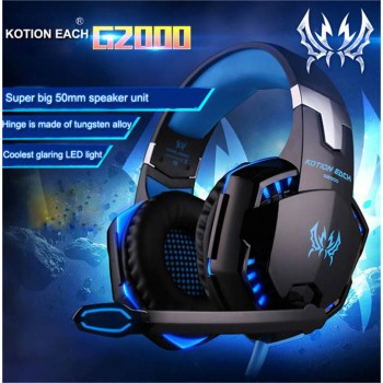Deep Bass Headset with Mircophone Professional Stereo Gaming Headphone