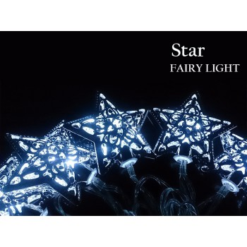 #Special# Battery Powered Moroccan Style Fairy Light - Star Including Batteries