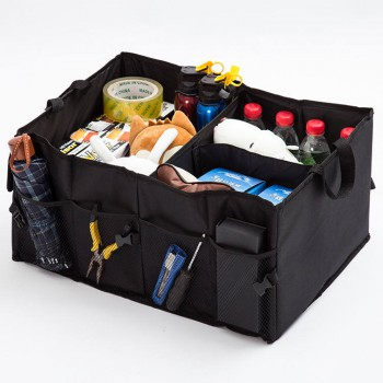 Foldable Cargo Storage Box with Rope Handles