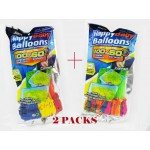 #Special#Summer Fun Quickly Top up Colorful Water Balloons 2 Packs $10 Only