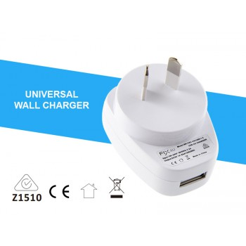 Quanlity USB FIX4U wall charger 5V 1A