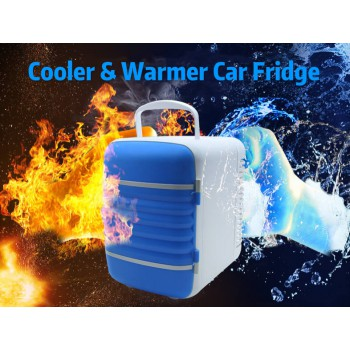 4L Mini Freezer Cooler & Warmer Car Fridge