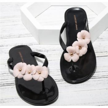 Camellia Flower Slippers Sandals for women