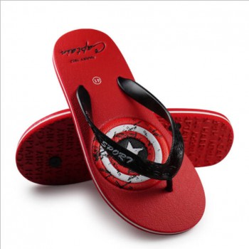 American Captain Slippers Sandals Red,Grey,Green 43-44
