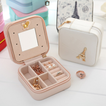 Fancy Jewellery box high quality travel kit