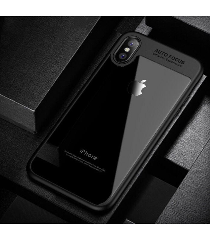 iPhone X Case Luxury silicone Transparent frame case for iPhone X