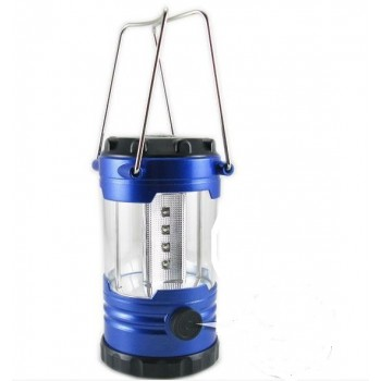 12 LED Hiking Portable Camping Lantern Light Lamp with Compass