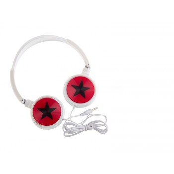 Star Stereo Headphone WX838 - Red